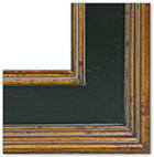 Inness Antique gold frame