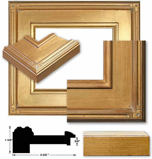Laguna gold plein air frames